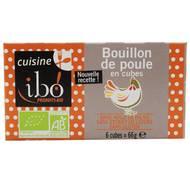 3609060004606 - Ibo - Bouillon de poule en cube bio