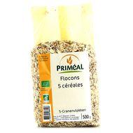 3380390068406 - Priméal - Flocons 5 céréales, bio