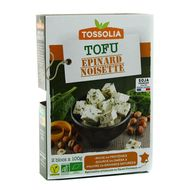 3483460210207 - Tossolia - Tofu épinards/noisettes bio