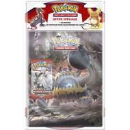 3558380040507 - Asmodée - Pack cahier + booster de 10 cartes Pokemon Soleil et Lune S4- Invasion Carmin