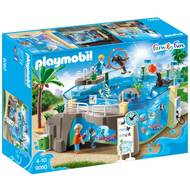 4008789090607 - PLAYMOBIL® Family Fun - Aquarium marin
