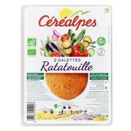 3472331212907 - Céréalpes - 2 Galettes de céréales Ratatouille Bio