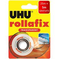 4026700363807 - Uhu - Dévidoir adhésif Rollafix transparent 30 m x 19 mm