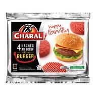 3181238965907 - Charal - Hachés de boeuf 15% mat.gr Spécial Burger