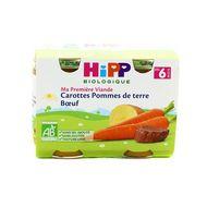 4062300056107 - Hipp - Carottes Pommes de terre Bœuf bio dès 6 mois