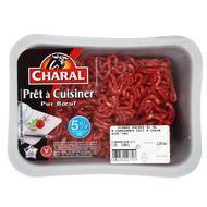 3181232127707 - Charal - Prêt à cuisiner pur Boeuf 5% mat.gr
