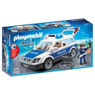 4008789069207 - PLAYMOBIL® City Action - Voiture de policiers avec gyrophare