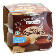 3467390140308 - Annie Lagarrigue - Crème renversée Chocolat au lait de Brebis, Bio