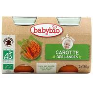 3288131510408 - Babybio - Carottes des Landes Bio, dès 4 mois