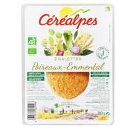 3472331062908 - Céréalpes - Galette végétale emmental poireaux bio