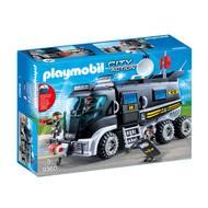 4008789093608 - PLAYMOBIL® City Action - Camion policiers d'élite avec sirène et gyrophare
