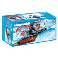 4008789095008 - PLAYMOBIL® Family Fun - Agent avec chasse-neige