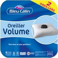 3153633467508 - Bleu calin - Lot de 2 oreillers Volume