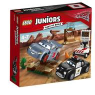5702015868808 - LEGO® Juniors - 10742- La piste d'entraînement de la Butte à Willy- Cars