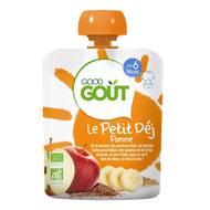 3760269310209 - Good Goût - Gourde Le Peti 'Dej Pomme bio dès 6 mois