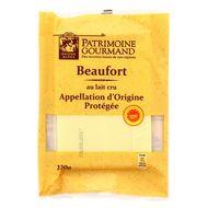 Patrimoine Gourmand - Beaufort au lait cru de vache