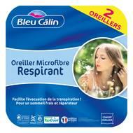 3153633460509 - Bleu calin - Lot de 2 oreillers anti transpiration TOPCOOL