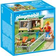 4008789061409 - PLAYMOBIL® Country - Enfant avec enclos à lapins et clapier