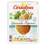 3472331122909 - Céréalpes - Galette épinards, pignons bio