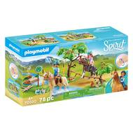4008789703309 - PLAYMOBIL® Spirit - Mare avec végétation