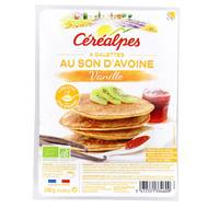 3472331334609 - Céréalpes - 4 Galettes au son d'avoine vanille, Bio