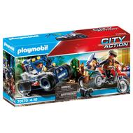 4008789705709 - PLAYMOBIL® City Action - Policier avec voiturette et voleur