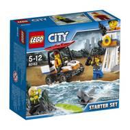 5702015866309 - LEGO® City - 60163- Ensemble de démarrage des gardes-côtes