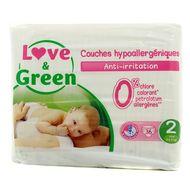 3700668700010 - Love & Green - Couches écologiques T2 3/6kg