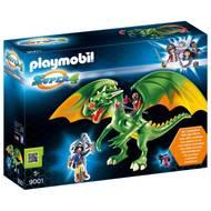 4008789090010 - PLAYMOBIL® Super 4 - Dragon Médiévalia avec Alex