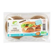 3760154260510 - Nature & Cie - 2 Pains hamburger bio sans gluten