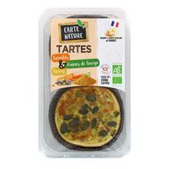 3700477660710 - Carte Nature - Tartes bio Carottes Graines de Courge et curry