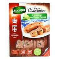 3039050630810 - Socopa - Saucisses aux choux façon charcutière