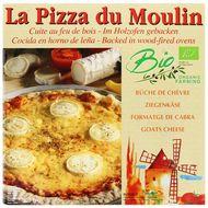 3273640001110 - La Pizza du Moulin - Pizza Bûche de chèvre bio cuite au feu de bois Bio