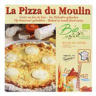 3273640001110 - La Pizza du Moulin - Pizza Bûche de chèvre bio cuite au feu de bois