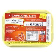 3522920023510 - Capitaine Nat - Petits maquereaux Lisettes au naturel