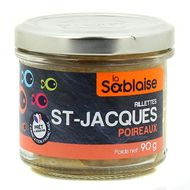 3375160004210 - La Sablaise - Rilletes St-Jacques poireaux