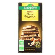 3396413714410 - Bonneterre - Chocolat Noir fourré Praliné bio