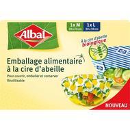 4008871215710 - Albal - Film alimentaire à la cire d'abeille