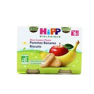 4062300055810 - Hipp - Pommes Bananes Biscuits bio, dès 6 mois