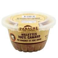 3356650006310 - Panache Des Landes - Rillettes 100% canard au foie gras et magret