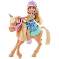 0887961416510 - Mattel - Chelsea et son poney- Barbie