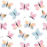 4021766246910 - Paperproducts Design - Serviettes en papier Pastel Butterflies