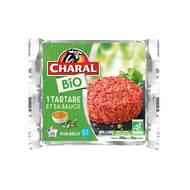 3181238969110 - Charal - Tatare de Boeuf Bio 5% mat.gr & sa sauce
