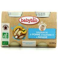 3288131510811 - Babybio - Douceur de pomme d'Aquitaine et banane bio dès 6 mois