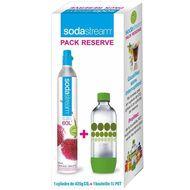 8718692610811 - Sodastream - Cartouche de gaz CO2 + bouteille pet 1 litre bulle