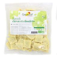 3760098451111 - Coquelicot - Ravioli chèvre et ciboulette bio