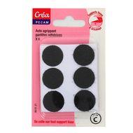 3040693601211 - Crea Pecam - Pastilles adhésives Velcro® noires