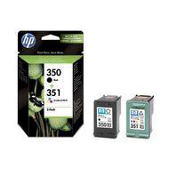 0884962834411 - Hewlett packard - Cartouches d'encre multi pack N350 + 351