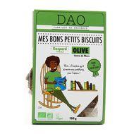 3497900007111 - DAO - Biscuits salés bio aux Olives