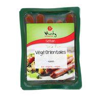 4032277007211 - Wheaty - Végé-orientales façon merguez ,bio Vegan